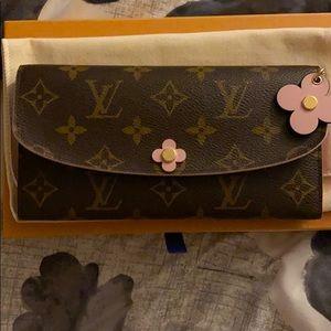 Louis Vuitton Emilie Bloom Wallet